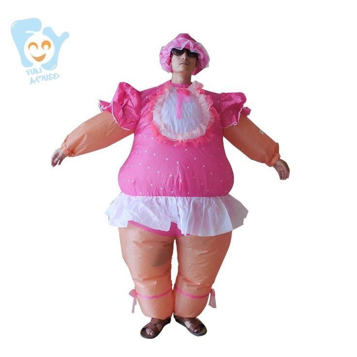 ==> [Free Shipping] Buy Best Halloween Christmas Dress Women Cosplay Costume Pink Inflatable Russian Baby Doll Costumes Adult Fancy Dress Online with LOWEST Price | 32754743794