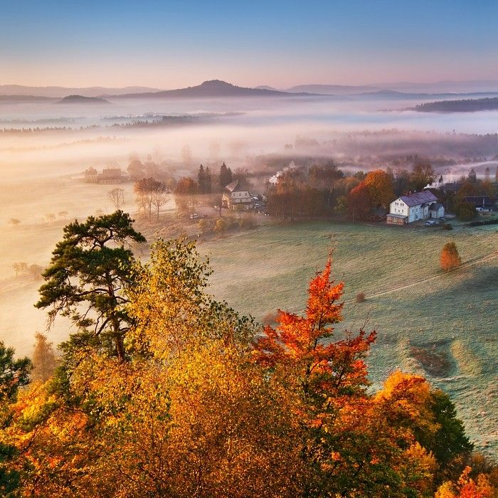 Memories of Autumn 1 (the autumn of Bohemian Switzerland) by Daniel Řeřicha on 500px