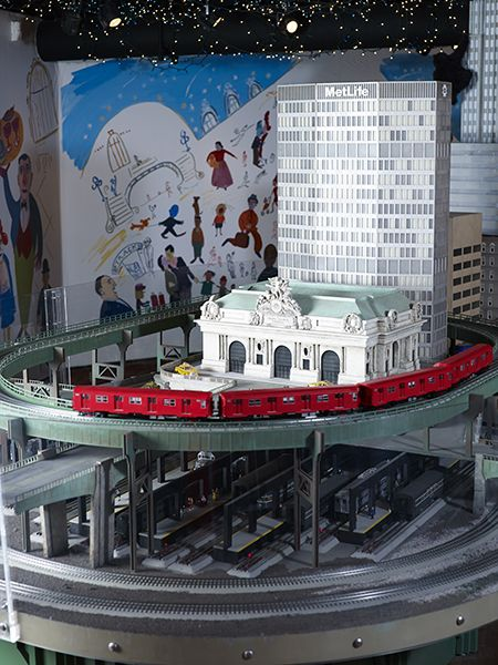 View information about 14TH ANNUAL HOLIDAY TRAIN SHOW AT GRAND CENTRAL :: Nov 14, 2015