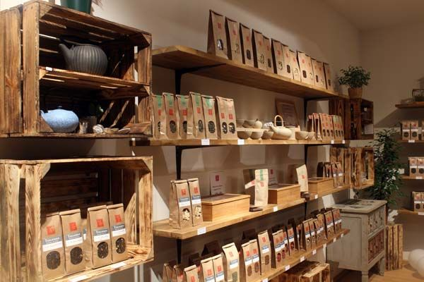 Teelicious Teeladen in Dresden Neustadt - Traditioneller Loser Tee