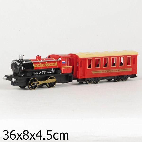 Поезд «Красная стрела» свагоном
