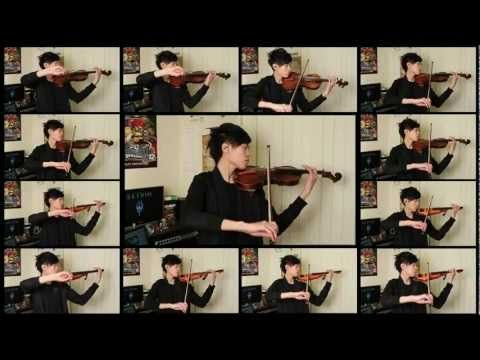 An acoustic and electric violin cover of two of my favorite themes from Skyrim. Arranged and performed by Jason Yang. Original soundtrack by Jeremy Soule.    I've been a huge fan of Bethesda's games for years and Skyrim is one of the best games I've ever played. That, along with the fact that the game's soundtrack is amazing, was more than enough inspiration for me to create this video. So this one goes out to all the creators and fans of Skyrim! Fus Roh Dah!