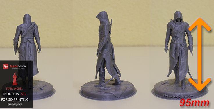 Assassin 3D printed model.