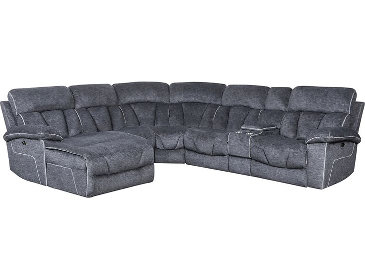 Best Gladiator 6 Piece Power Reclining Sectional Outlet At 400 x 300