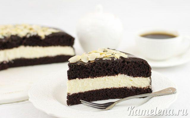 «Дьявольский» шоколадный торт — 16 шаг