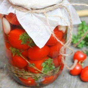 11_маринованные помидоры черри на зиму без стерилизации