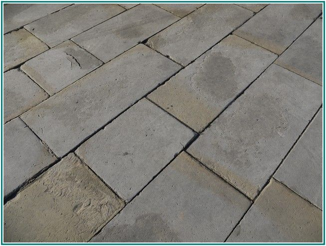 Striking Stone Look Tile Flooring