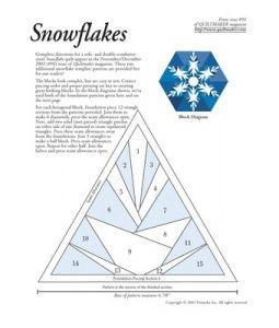 Patchwork - Quilting Snowflakes                                                                                                                                                                                 Más