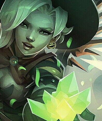 #Halloween #Mercy #Overwatch #Digital #Comics #Comic #Junkenstein #Junkenstein's #Monster