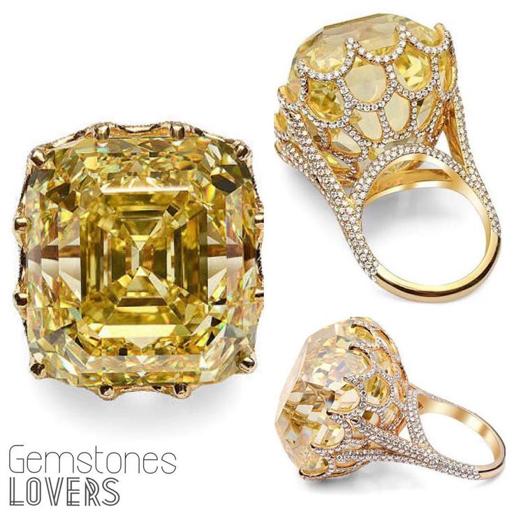 The 110 carat Cullinan yellow diamond, named after its first owner, the Asscher-cut gem left South Africa to take its place among the British crown jewels in 1907 under Kind Edward VII. #gemstoneslovers #timeless #endless #forever #beloved #space #universe #asschercut #africa #british