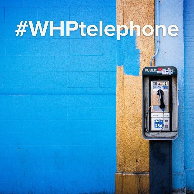 "#WHPtelephone - Il ""Weekend Hashtag Project"" di Istagram di questa settimana"