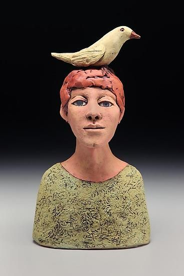 Ceramic Sculpture - Figurative Sculpture with thanks to Sculpture Artist Ed Byers , Artist Study Resources for CAPI::: Create Art Portfolio Ideas at milliande.com, Art School Portfolio Work