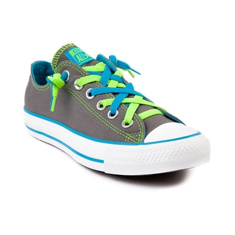 Shop for Converse All Star Lo Kriss N Kross Athletic Shoe in Gray at Shi by Journeys. Shop today for the hottest brands in womens shoes at Journeys.com. #Shisummer