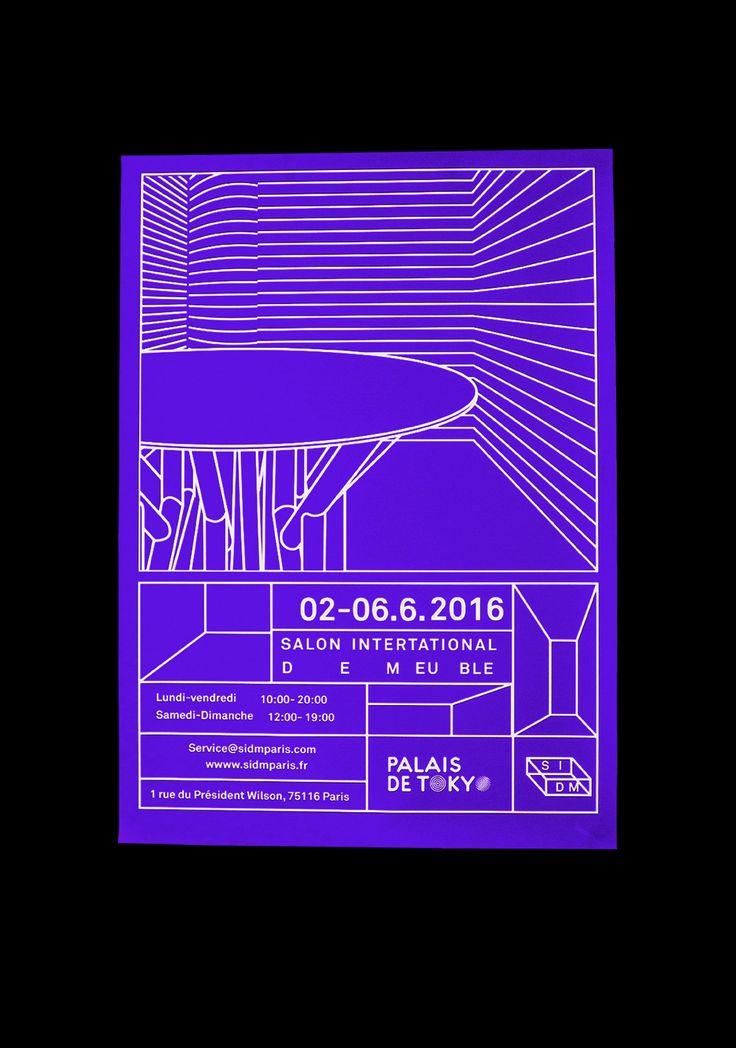 poster Salon International de meuble