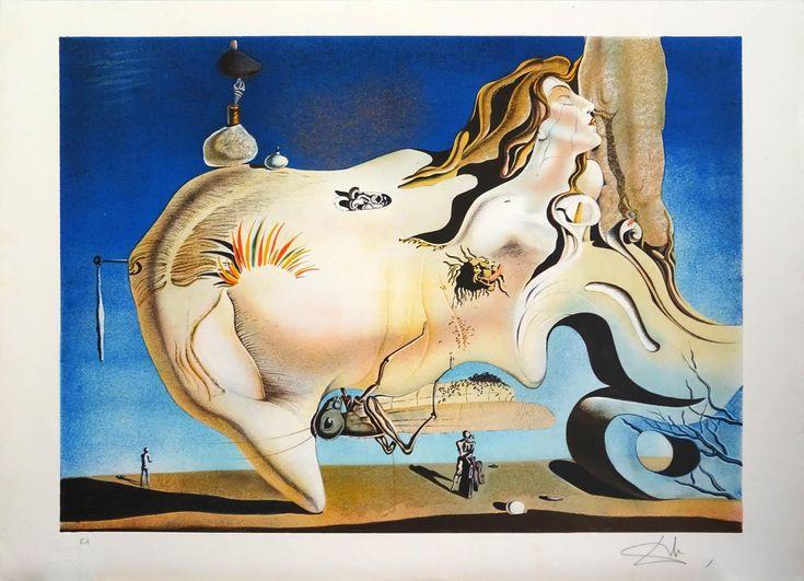 "Salvador Dalí: ""El Gran Masturbador"" E.A. - Subasta Real"