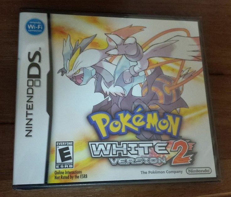 Pokemon: White Version 2 (DS 2DS, 3DS)-SEALED! - Trusted USA SELLER! Fast S