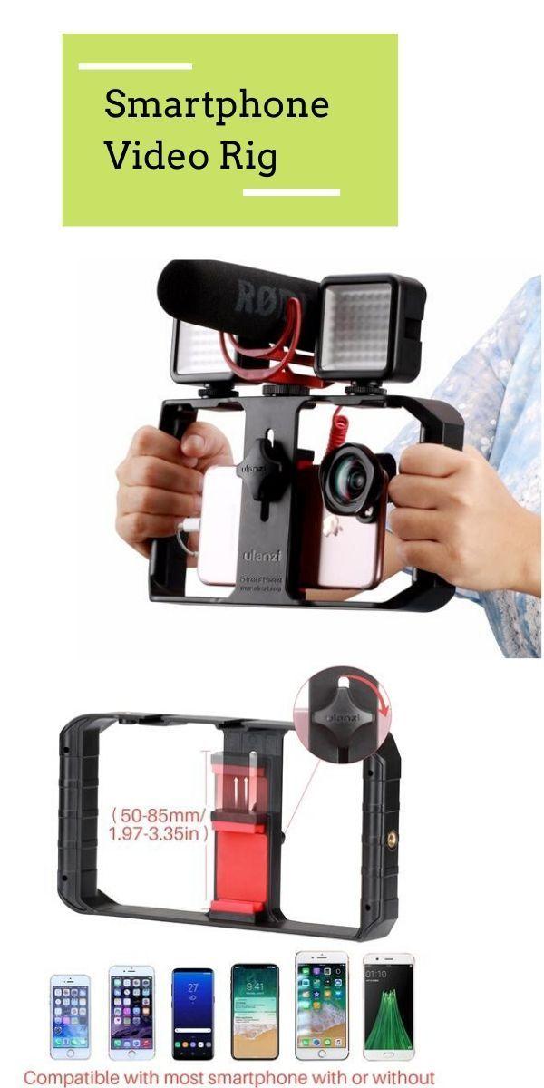 Pro Smartphone Video Rig in 2020 | Diy camera. Smartphone. Camera gear