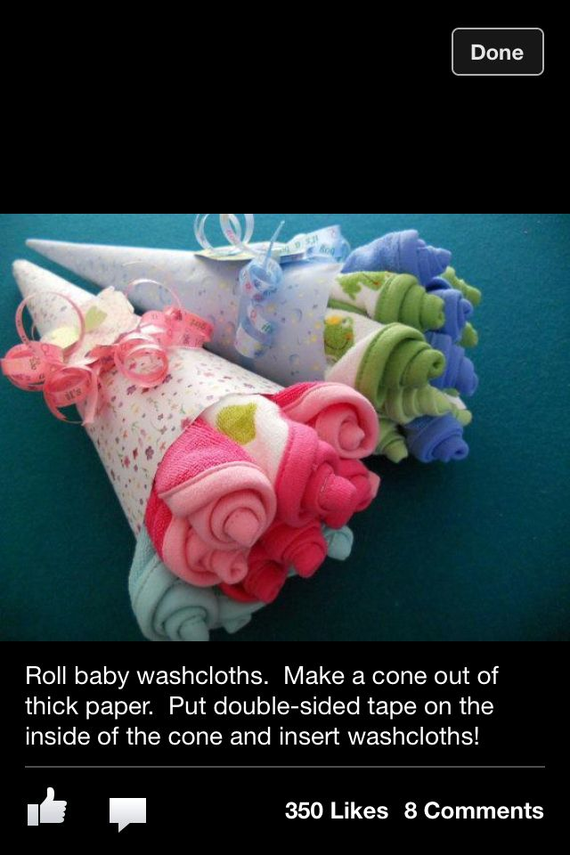 Baby shower gifts EASY AND CUTE, or perfect for welcoming the baby at the hospital