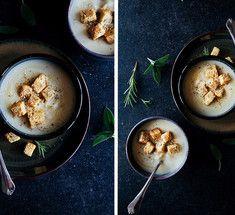 Восхитительный вегетарианский крем-суп из пастернака и сельдерея