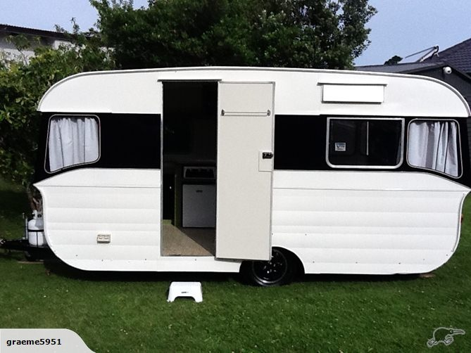 Elegant Custom Retro Caravans New Zealand