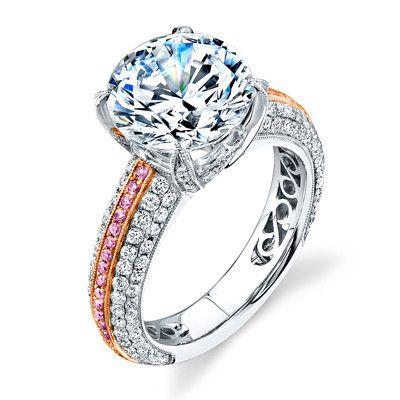14 best Pink Diamond Engagement Rings at Ben Garelick Jewelers