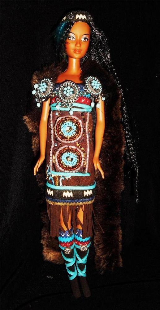 1000 Images About Native American Barbies And Dolls On