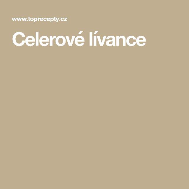 Celerové lívance