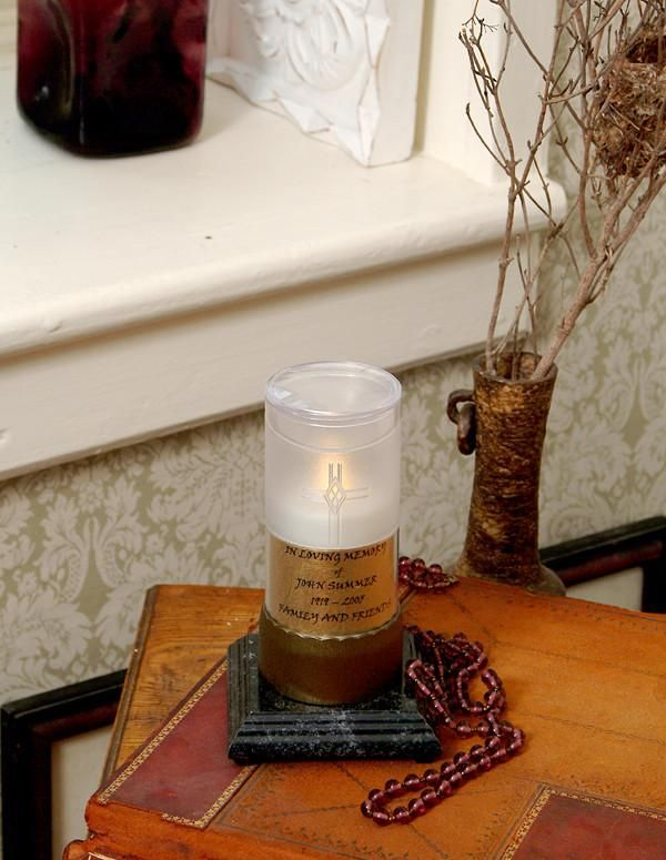 Label for Memorial Chamber Remembrance Candle or OMNI Stand