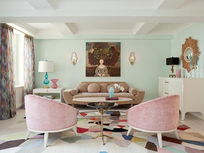 Graue Fliesen Wohnzimmer Dekoration   Die Besten 25 Rosa Badezimmer Ideen Auf Pinterest Rosa