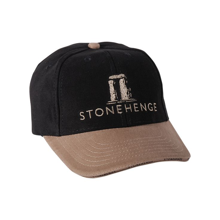 Exclusive to English Heritage and made from 100% Cotton, any admirer of the ancient site of Stonehenge in Wiltshire will love this cap. A fantastic souvenir of one of Englands greatest monuments.  http://www.english-heritageshop.org.uk/clothes/accessories/stonehenge-trilithon-cap-black