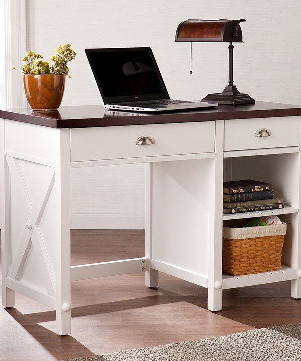 Look at this Amburg Farmhouse Desk on #zulily today!