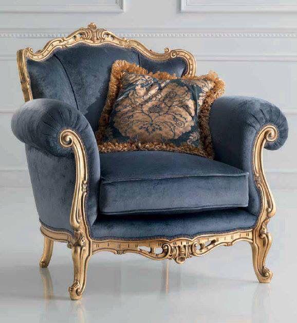 For the home designers guild pinterest sillones Muebles de sala luis xvi
