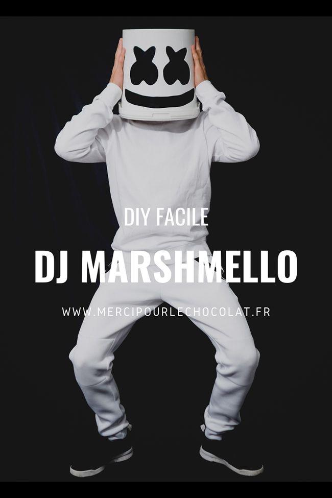 Marshmello Halloween 2020 Halloween – costume DJ Marshmello facile ! en 2020 | Deguisement