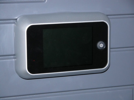 Digital Door Viewer. see more at LOFT Home & Hotel Blog