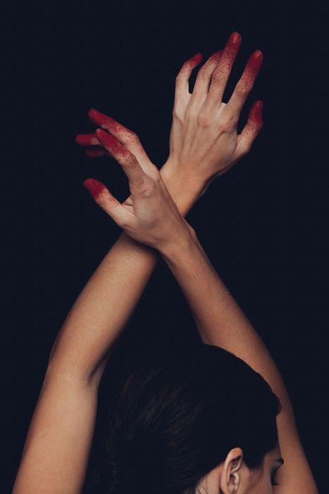 """Psycho Killer"" Photographer-AJ Ragasa Stylist-Kat Hall Model-Lana Kraljevich Makeup Artist-Nicole Vongpanya"