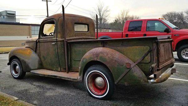 Weathered Prewar Find 1940 Ford Pickup Ford Trucks Classic Pickup Trucks Pickup Truck Accessories