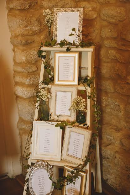 Vintage step ladder table plan - simple yet effective...