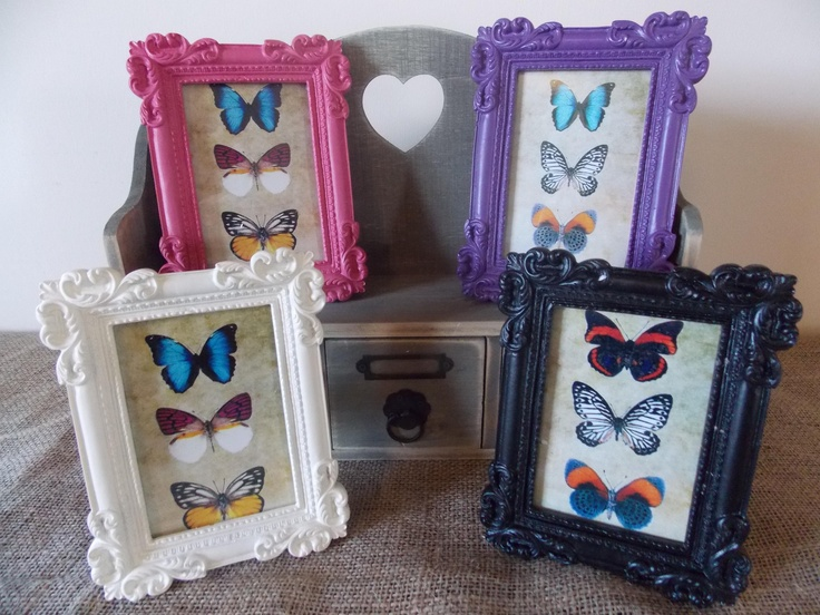 Vintage Small Rectangular Photo Frames, £4.95