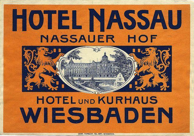 Hotel Nassau / Nassauer Hof. Hotel und Kurhaus Wiesbaden