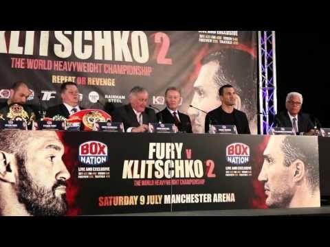 FURY VS KLITSCHKO 2 PRESS CONFERENCE