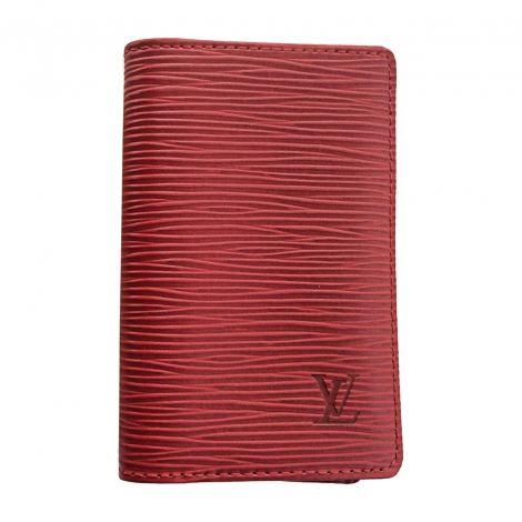 LOUIS VUITTON Porte-cartes http://www.videdressing.com/porte-cartes/louis-vuitton/p-5525027.html?&utm_medium=social_network&utm_campaign=FR_homme_sacs_petite_maroquinerie_5525027
