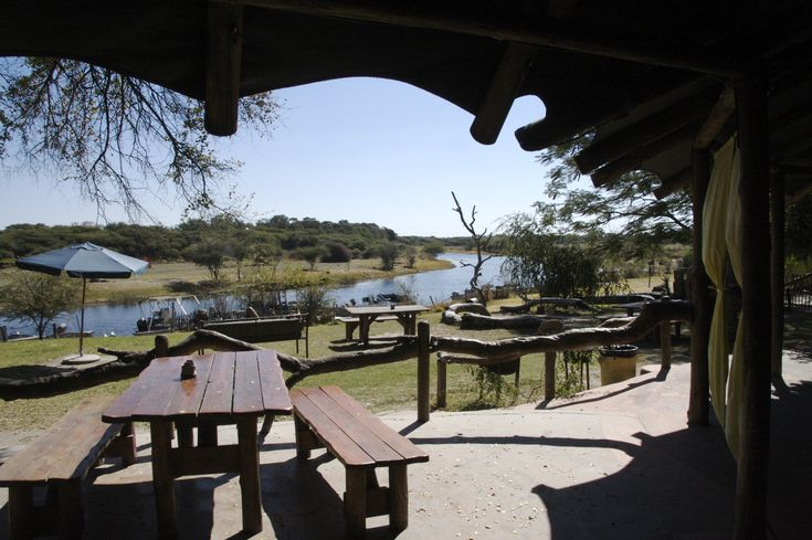 One of many beautiful camps to enjoy African scenery and nature