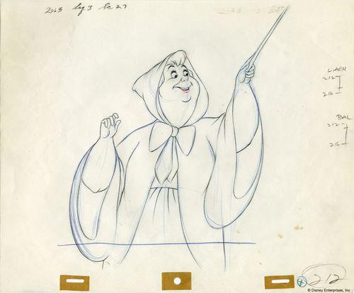cinderella Disney sketch