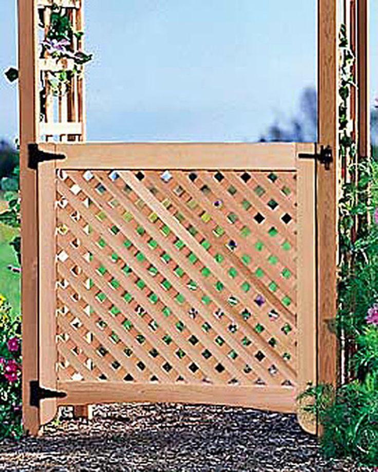 Cedar Gate for the Rosedale Cedar Arch | Gardener's Supply