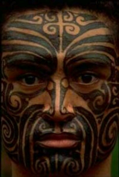 "Ta moko  ""Not everyone has them, but you're not surprised when you see them. It's more common for people just to tattoo between their lower lip and chin versus the whole face."""