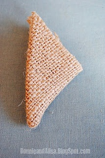 burlap flower tutorial - would go perfect with the craft for reusing the crib springs.