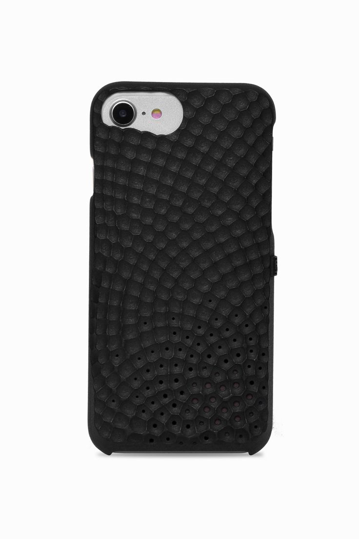 Personalize your iPhone with your favorite fragrance: Freshfiber Stonework Perfume Case in Black | From Freshfiber.com