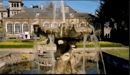 """John Watson and Mary marry. (Bristol's Georgian Goldney House). 