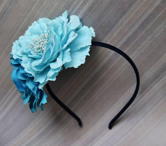 Floral Headband Festival Headband Metal base headband