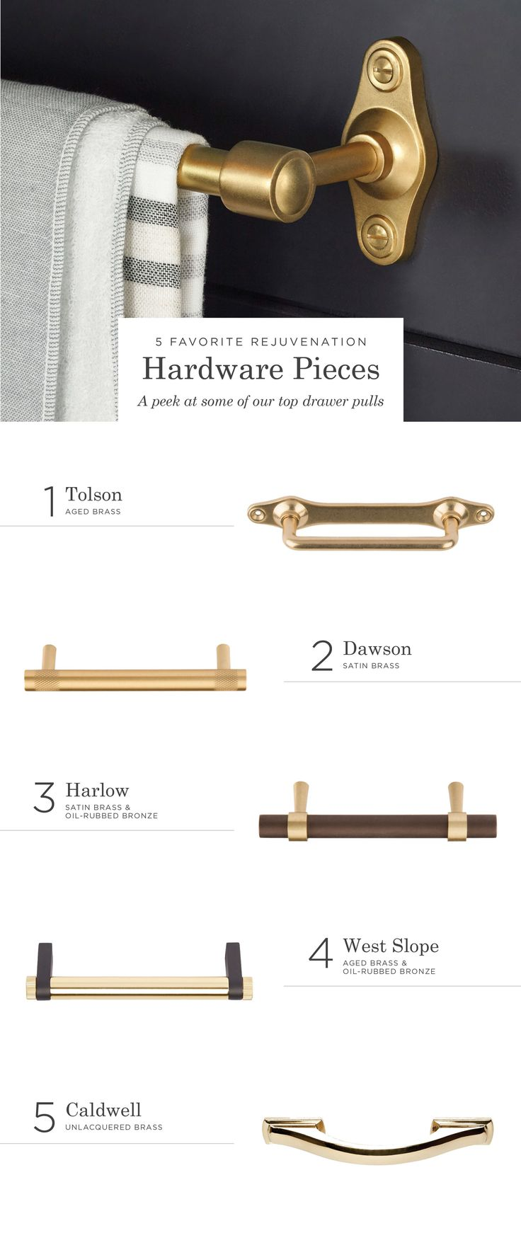 Hardware: small detail that makes a big impact.